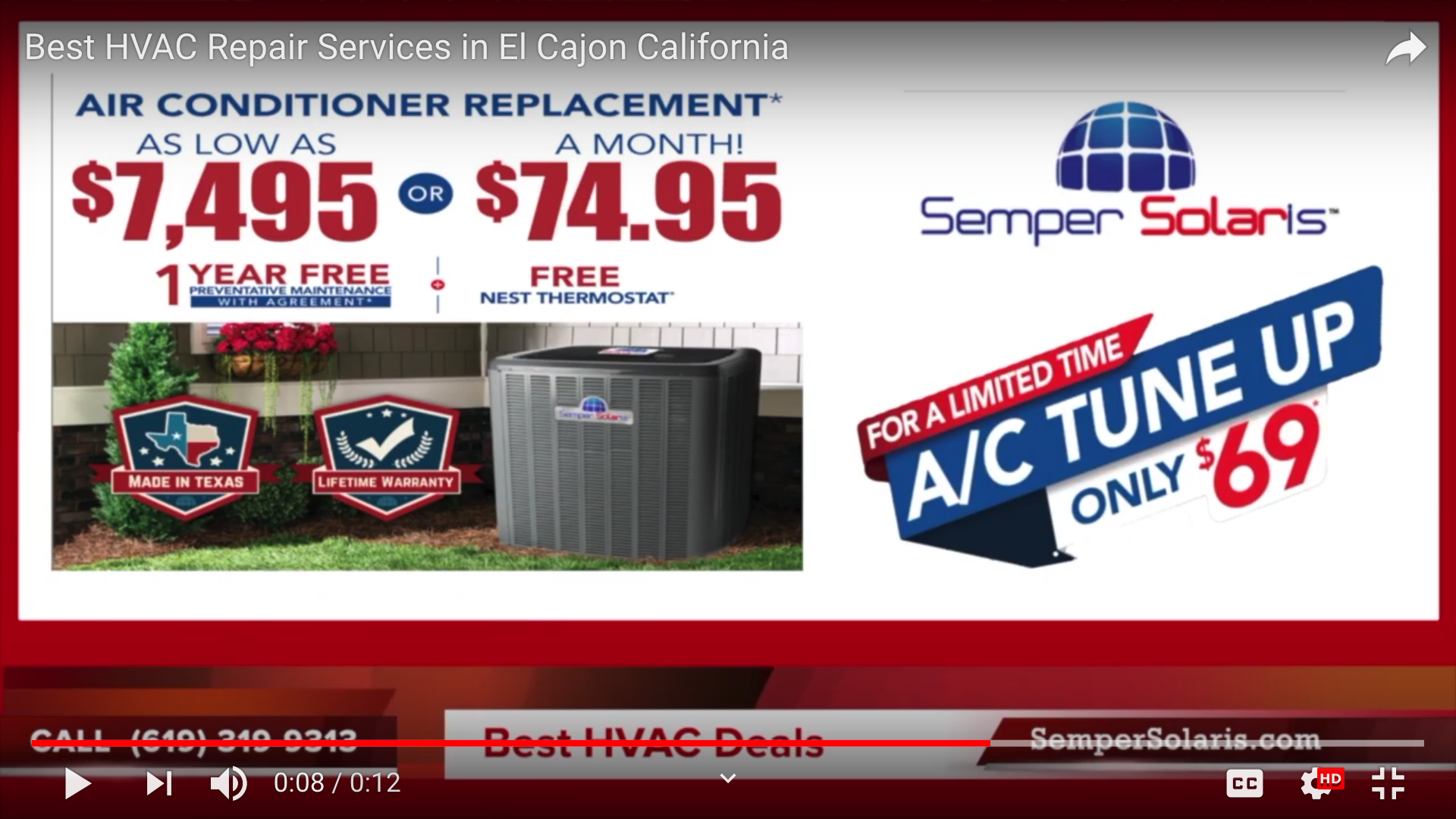 New  Air Conditioning Unit San Marcos Company